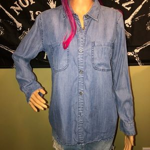 Rails Carter Chambray Button Up Medium Was Size S